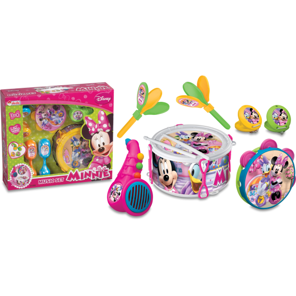 Minnie Mouse Müzik Set