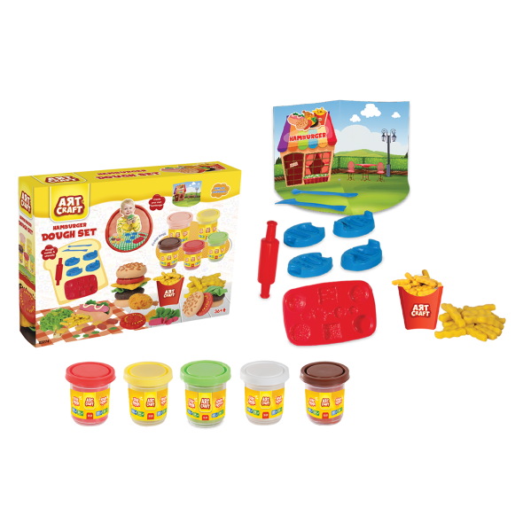 Hamburger Hamur Set