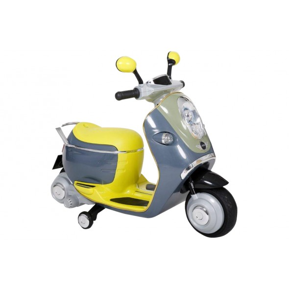 Mini Cooper Akülü Scooter