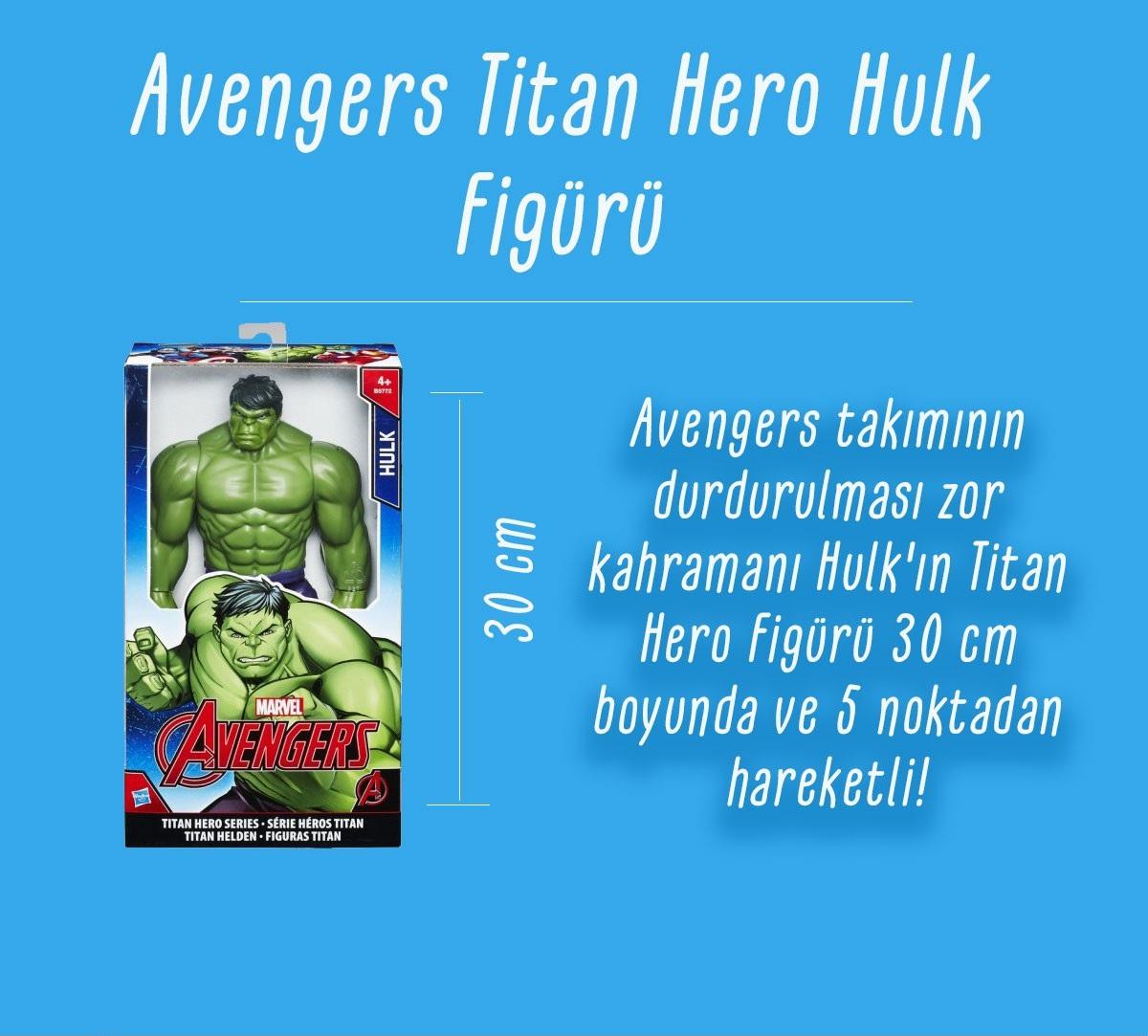 Avengers Titan Hero Hulk figürü