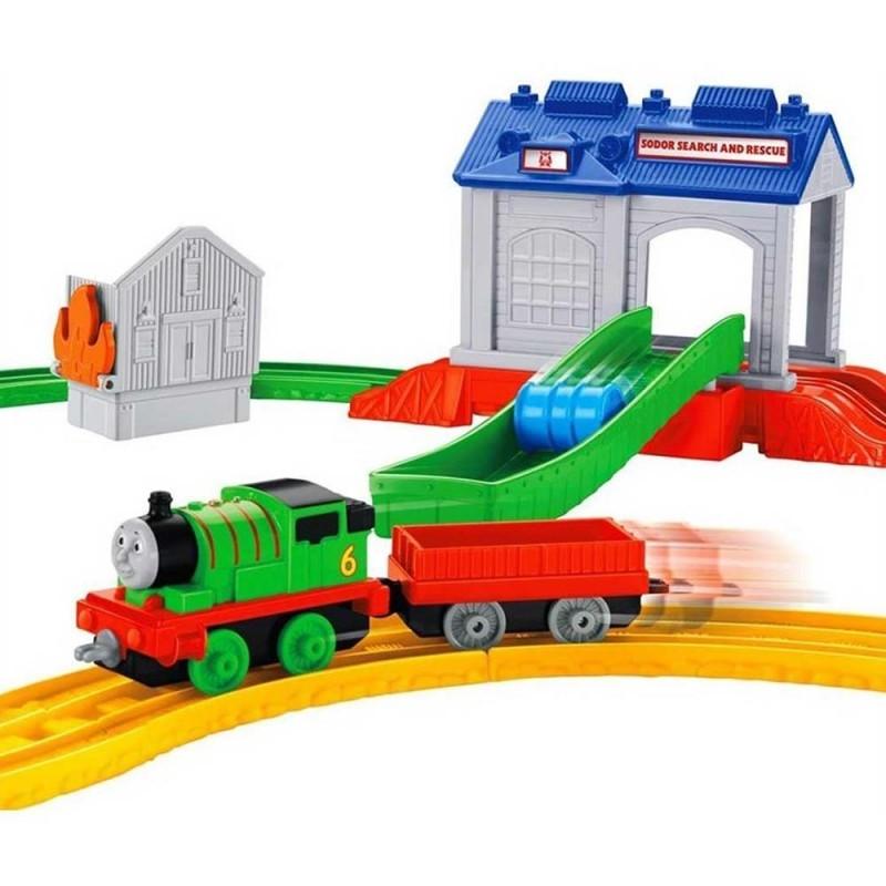 Thomas ve arkadaşları Percy kurtarma merkezi